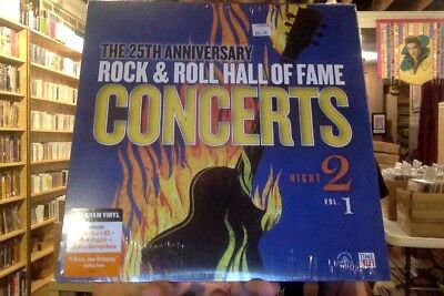 25th Anniversary Rock & Roll Hall of Fame Concerts Night 2 Vol. 1 LP new vinyl