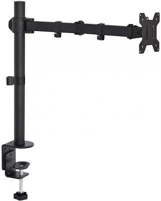 VIVO Single LCD Monitor Desk Mount Stand Fully Adjustable/Tilt/Articulating...