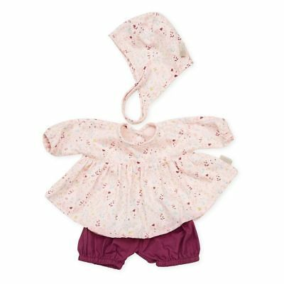 Doll's Clothing Set & Bonnet - Fleur Play Toy Accessories