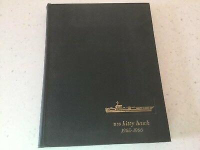Uss Kitty Hawk Cva-63   1965-1966 Westpac-Vietnam War Cruise Book
