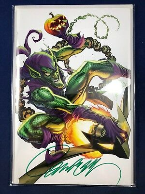 Amazing Spider-Man #800 2018 SDCC Signed J Scott Campbell Virgin Variant Cover E