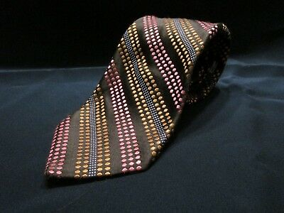 Ted Baker London Men's  Tie 100% Silk Made In Usa