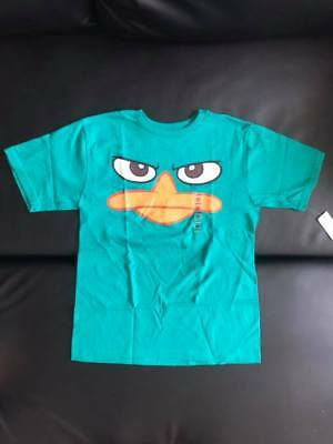 NEW Phineas /& Ferb Perry Youth Kids Sizes 4//5-7//8-10//12 Long Sleeve Shirt