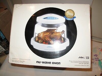 BRAND NEW IN BOX.  NuWave Pro Infrared Oven White Model 20301.  A GR8 Deal!