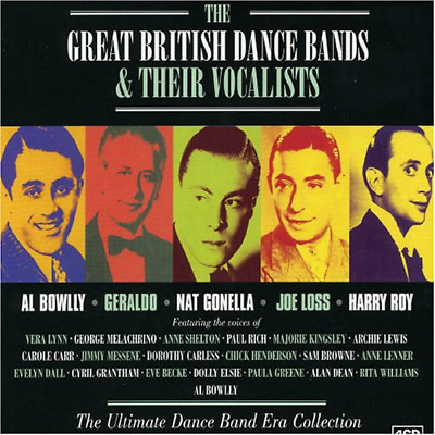 The Great British Dance Bands & Their Vocalists, Various Artists, Good Box set