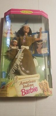 American Indian Barbie Doll American Stories Collection  NRFB  NEW