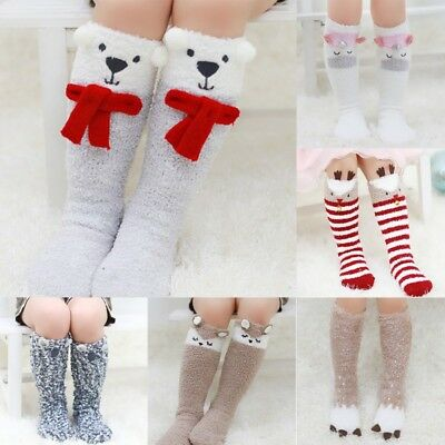 Baby Toddler Kid Girl Cotton Warm Leg Warmer Knee High Pantyhose Socks Stockings