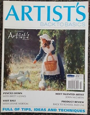Artist's Back to Basics Magazine Presented by Artist's Palette Issue 3-3