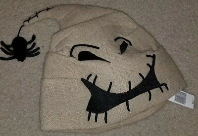 NEW WITH TAGS Disney Parks Oogie Boogie Hat Cap Nightmare Before Christmas Adult