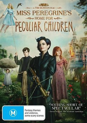 Miss Peregrines Home For Peculiar Children (DVD, 2017)