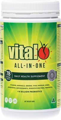Vital Greens / Vital All In One 600G Superfood ~^*free Express Postage*^~