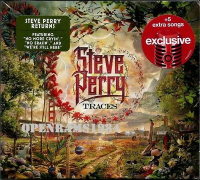 Steve Perry Traces Cd Target Exclusive +5 Bonus Songs Journey Free Shipping