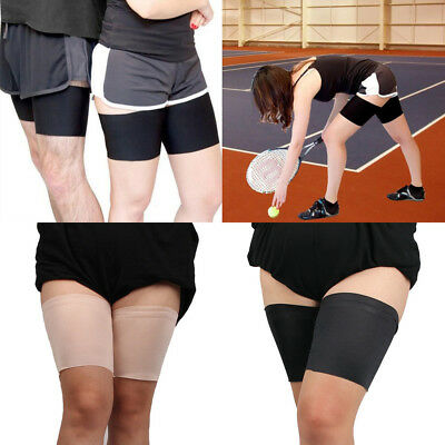 1 Pair Anti Chafing Thigh Bands Elastic Non Slip Leg Comfort Running Sports AU