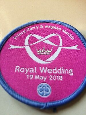 Girl Guides / Scouts Royal Wedding Harry & Meghan 19 May 2018