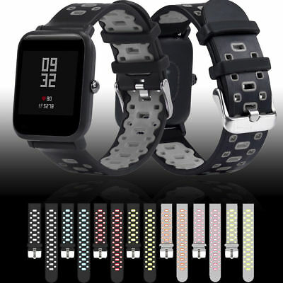 Replacement Sport Silicone Wrist Band Strap for Amazfit Bip Youth Watch 20MM