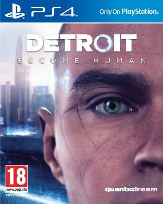 DETROIT Become Human - PS4   -  NUOVO SIGILLATO E ITALIANO