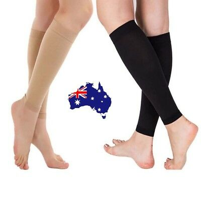 Compression Socks Leg Calf Foot Support Sleeve Relieve Varicose Veins Stockings