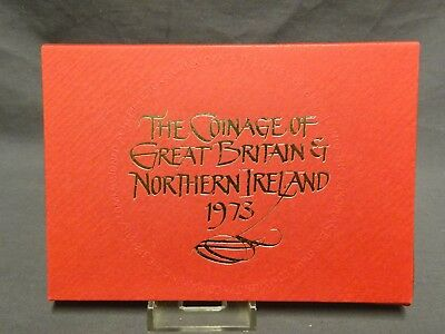 Royal Mint Coinage of Great Britain and Northern Ireland Proof Coin Set - 1973