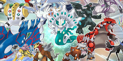 Pokemon New Event Complete Sets Ultra Sun Moon + Rare Shiny Legends 2018