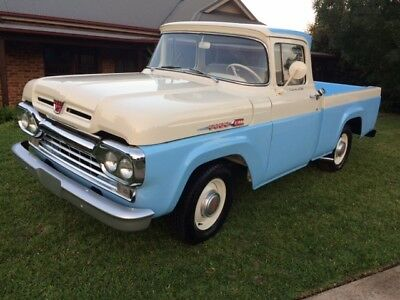 1960 Ford F-100  1960 ford f100 custom cab completely rebuilt