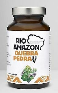 Rio Amazon Quebra Pedra  500Mg 5:1 Extract 90Vcaps (12 Pack)