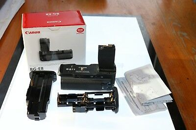 Canon BG - E8 Battery Grip - Boxed with instructions & original packing