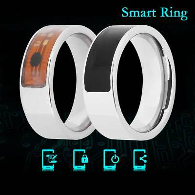 NFC Smart Magic Ring Wearable For Hawei iPhone Android Stainless Steel Ring AU