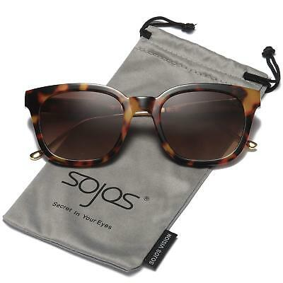 0b208b2aa5 SOJOS Classic Polarized Sunglasses for Women Men Mirrored Lens SJ2050 with