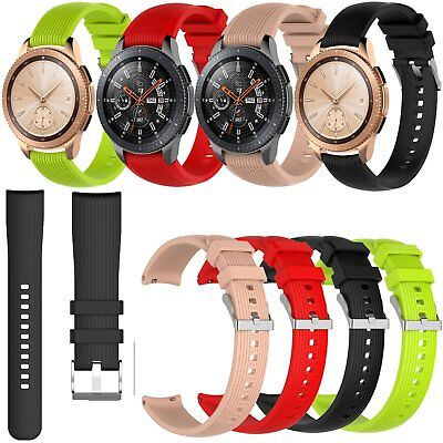 Silicone Wrist Band Strap Watchband Bracelet for Samsung Galaxy Watch 42mm 46mm