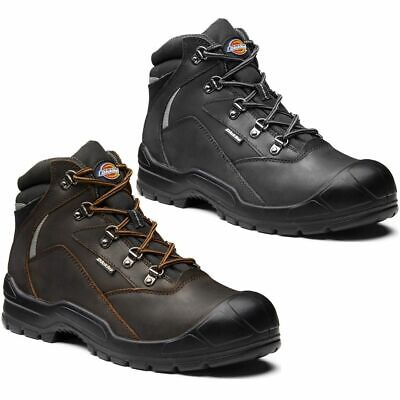 Dickies Preston Safety Water Resistant S3 SRC Mens Leather Composite Work Boots