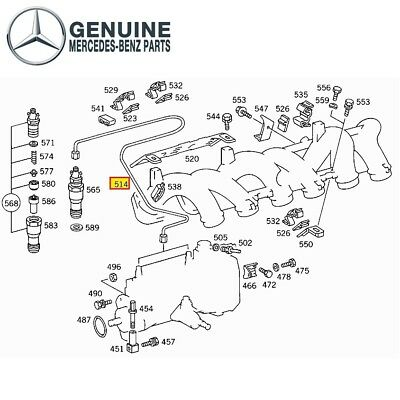 mercedes benz w124 best place to find wiring and datasheet resources  for mercedes benz om603 w124 w126 w140 line injection genuine 6030701133