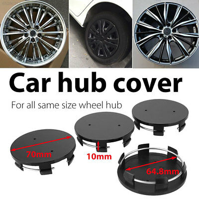 8C0F Premium Hub Cap Wheel Hub Cover Automobile Tire Vehicle Black Spare