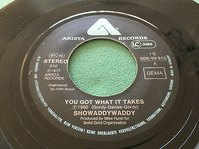 ★ 1977: SHOWADDYWADDY: You Got What It Takes - Sing On Louise ★ VERSICHERT ★