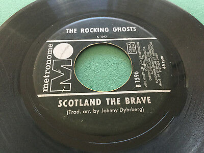 ★ The Rocking Ghosts: Scotland The Brave - Under The Bridges Of Paris ★