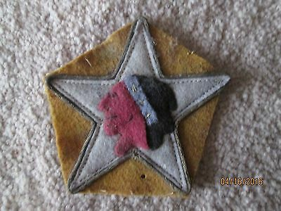 WWI USMC US Army Marine 2nd Division  patch wool