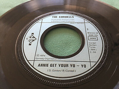 ★ 1974: THE CORDELLS: Annie Get Your Yo-Yo - Me And Leahy ★ VERSICHERT ★