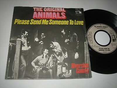 "7"" Original Animals: Please Send Me Someone To Love - Barn Records 2014 109"