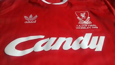 Liverpool FC. 1989 FA Cup Final Jersey Shirt.