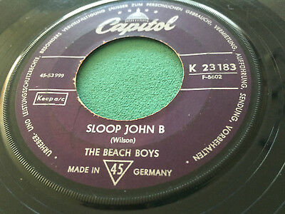 ★ THE BEACH BOYS: Sloop John B - You're So Good To Me ★ VERSICHERT ★