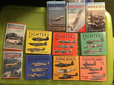 WW2 & later book lot pocket reference books Observers series etc