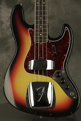 original 1966 Fender JAZZ BASS Sunburst
