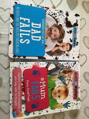 Make A Memory funny Mum And Dad Fails baby Photocards brand new