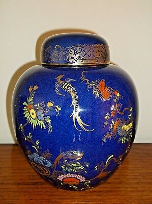 A G Harley Jones Wilton Ware Large Chinoiserie Ginger Jar