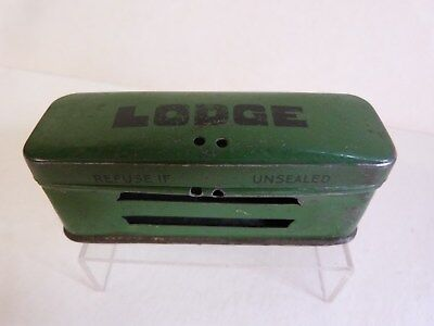 Vintage Lodge Spark Plug Tin. In great condition.