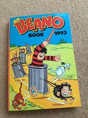 The Beano Book - Annual Hardback 1993 - Good Condition