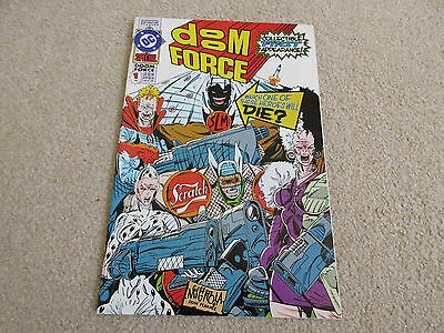 DOOM FORCE - DC Comic - SPECIAL - No 1 - July 1992 - VGC