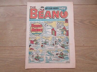 THE BEANO COMIC No 2316, DEC 6th 1986 - Very Good Condition