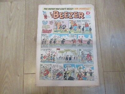 THE BEEZER COMIC, No 56 - FEB 9TH 1957  Good/fair Condition