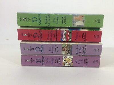 Harlequin Duets Romantic Comedies Lot of 4 PB's C8