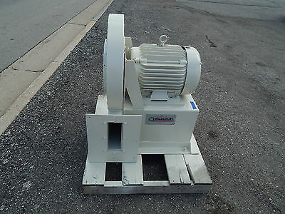 "Quickdraft Blower 14"" Inlet 9-1/2""(9.5"") x 3-1/2""(3.5"") Outlet 20HP Baldor Motor"